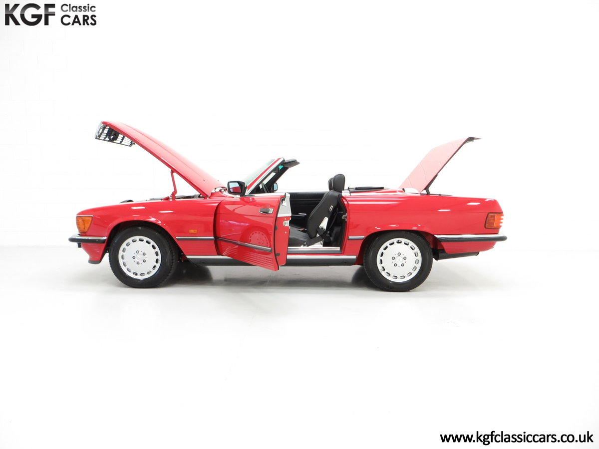 1986 A Multiple Concours d'Elegance Winning Mercedes-Benz 420SL SOLD (picture 3 of 6)