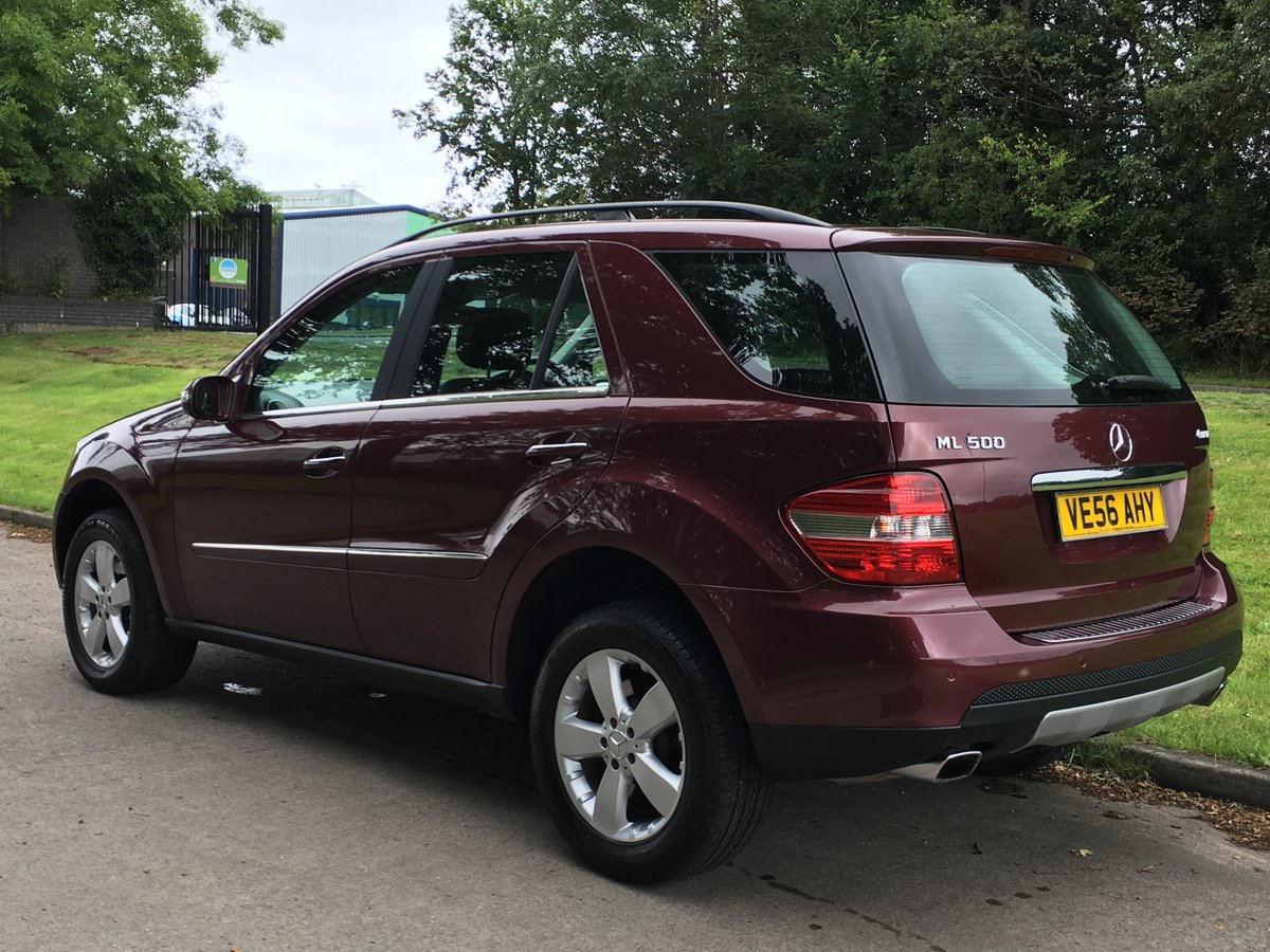 2006 Mercedes ML500 V8 - 59,400 miles - Excellent Example For Sale (picture 3 of 6)