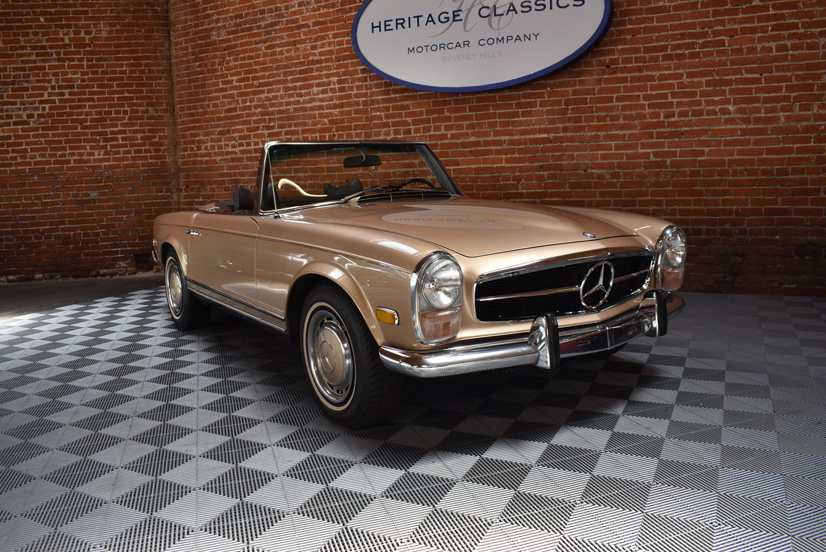 1970 Mercedes Benz 280SL For Sale (picture 1 of 6)