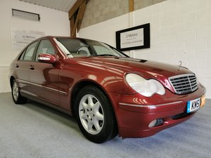 2001 Mercedes Benz C220 CDi (Turbo Diesel)+Long MOT+Nice History SOLD