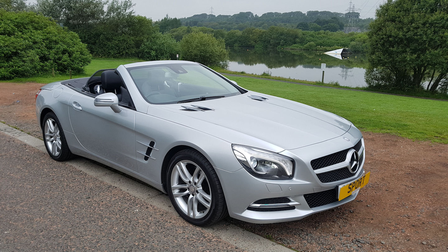 2013 Mercedes SL 350 Auto Convertible For Sale (picture 1 of 6)