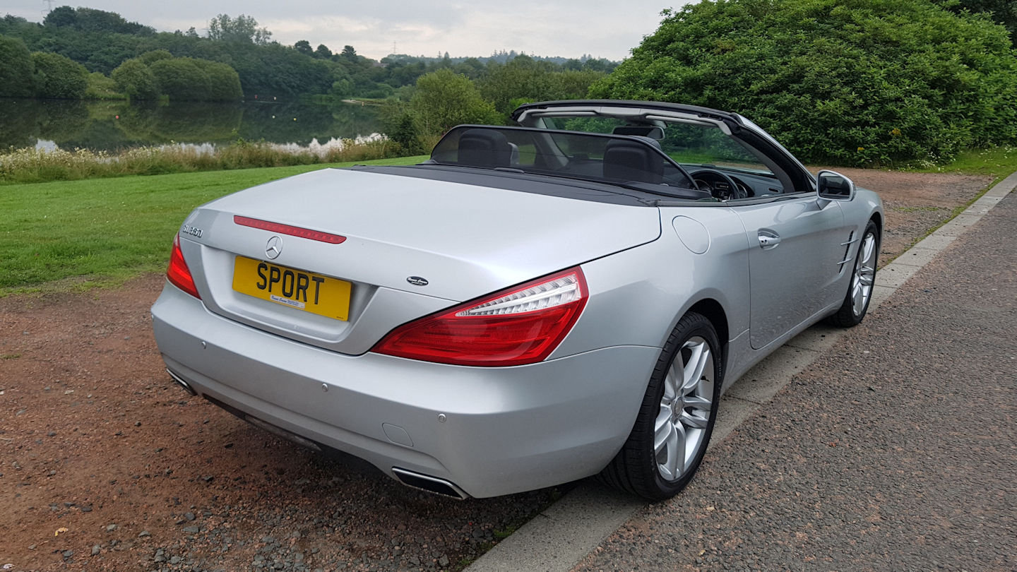 2013 Mercedes SL 350 Auto Convertible For Sale (picture 2 of 6)