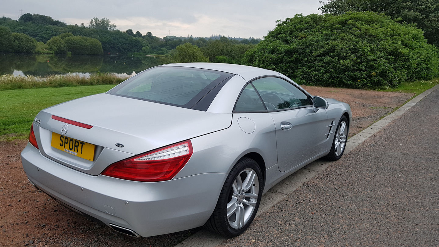 2013 Mercedes SL 350 Auto Convertible For Sale (picture 4 of 6)