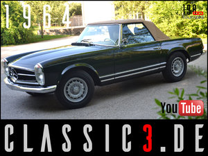 1964 MERCEDES-BENZ 230SL PAGODA W113 EU-DELIVERY RESTORED For Sale