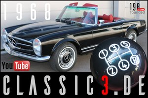 1968 MERCEDES-BENZ 280SL PAGODA W113+2019 ZF 5SPEED ZF S5-20 For Sale