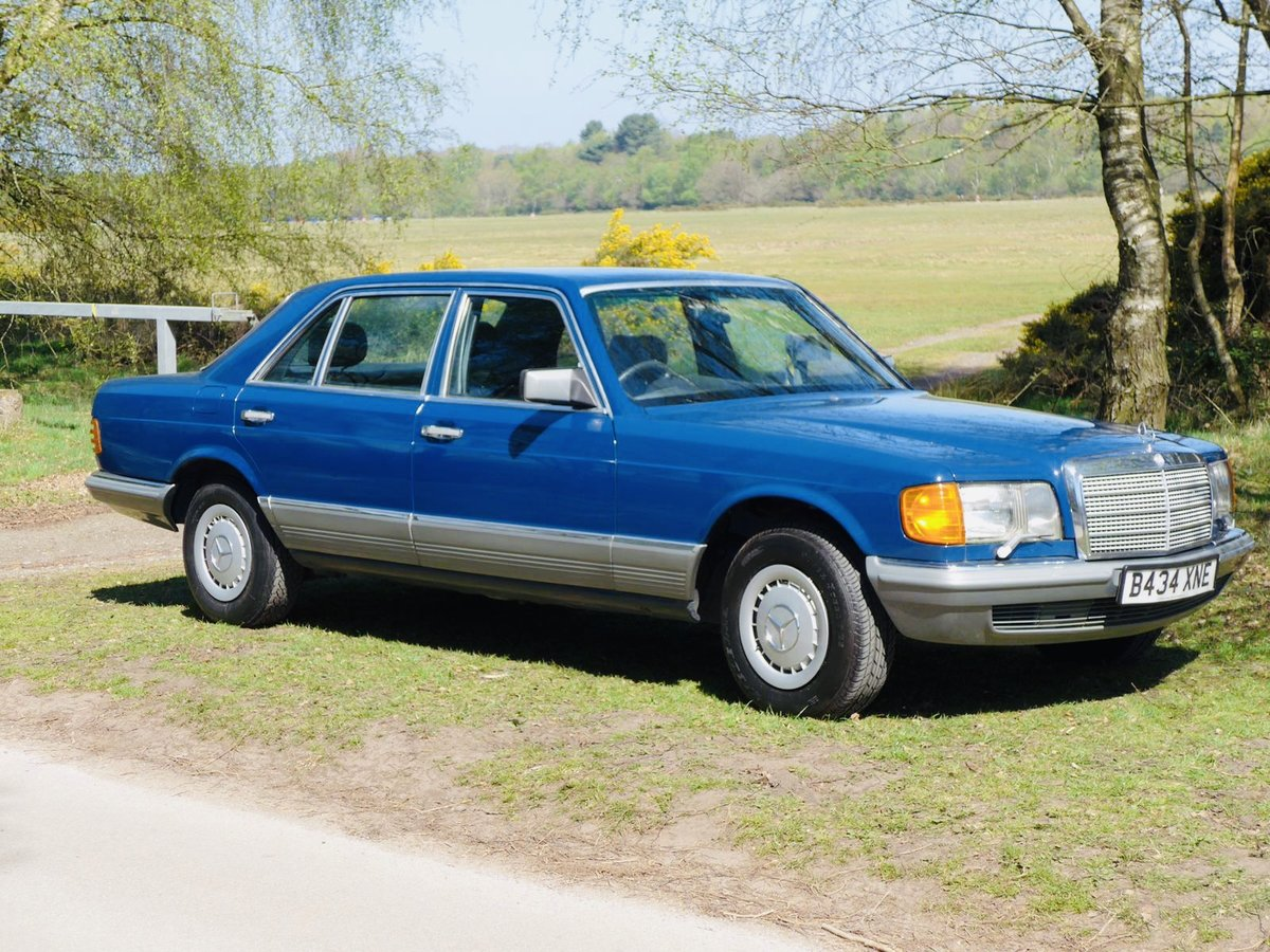 1985 Mercedes Benz 500SEL 64k Miles For Sale (picture 1 of 6)