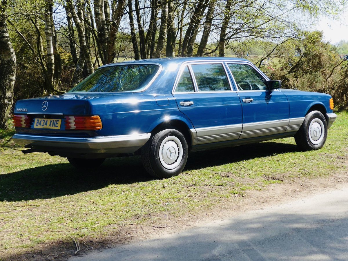 1985 Mercedes Benz 500SEL 64k Miles For Sale (picture 2 of 6)