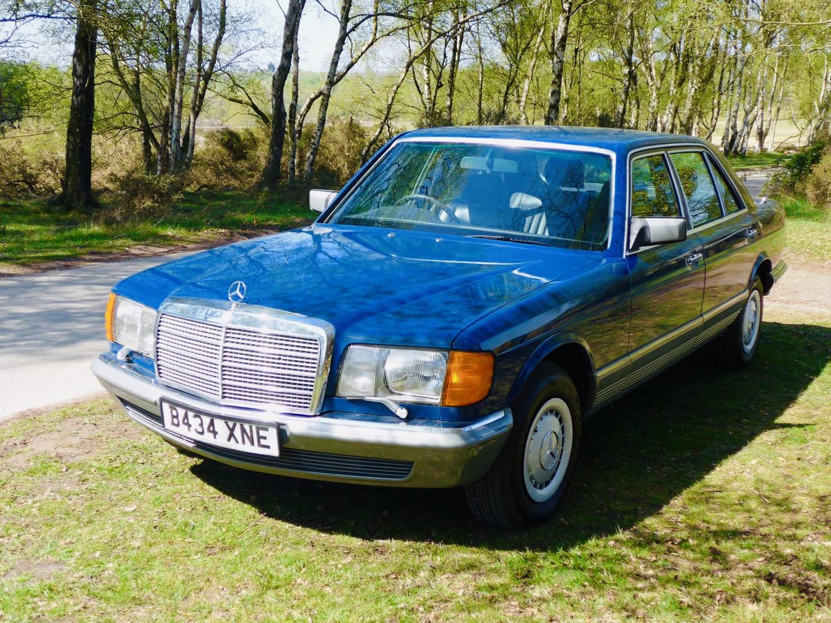 1985 Mercedes Benz 500SEL 64k Miles For Sale (picture 3 of 6)