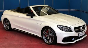 2018 C63s AMG Premium Convertible For Sale