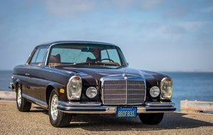 1970 Mercedes 280 SE 3.5 Coupe  Auto Bronze(~)Tan $122.5k For Sale