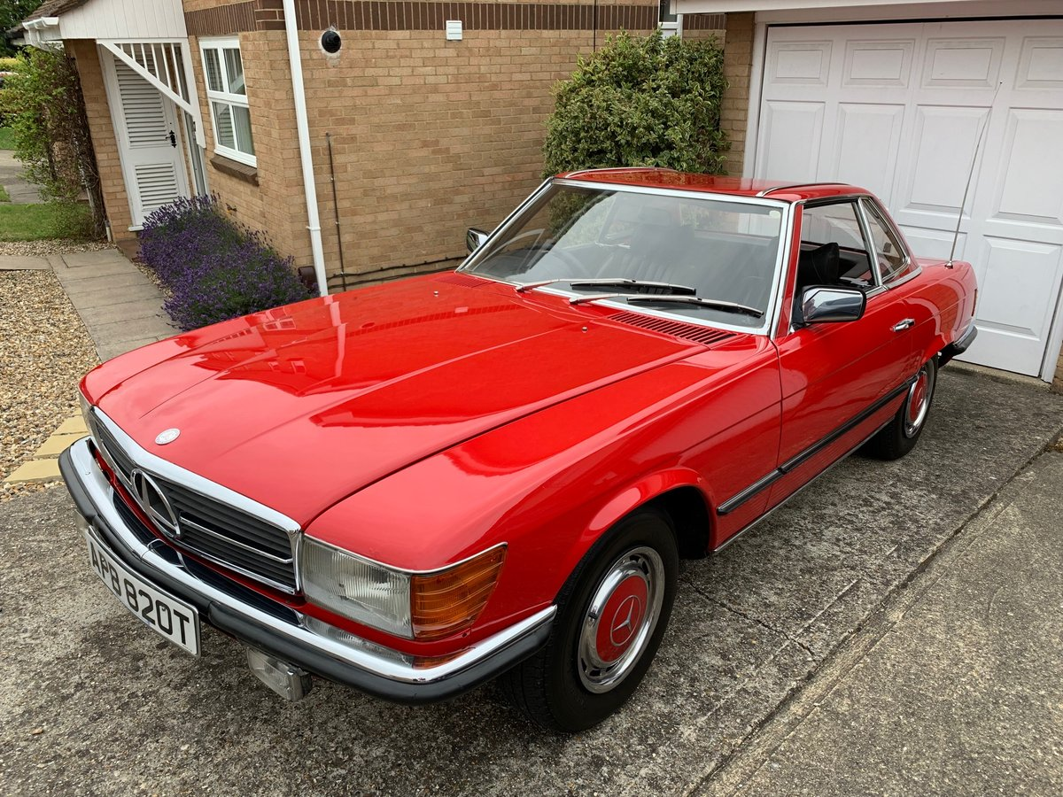 1978 Mercedes-Benz 280SL (R107) Tax Exempt SOLD (picture 1 of 6)