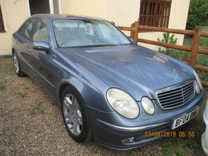 2004 RECENT MOT 167,000K E CLASS SALOON V/6 PETROL AUTO GOOD CAR For Sale