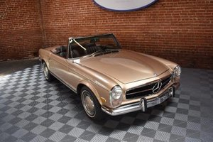 1970 Mercedes 280SL Pagoda 2 Tops 27k miles Fresh Engine $89.5k For Sale