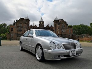 mercedes e430 avantgarde Facelift w210  59k