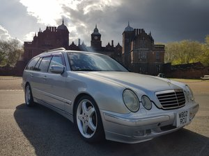 2000 Mercedes E320 Facelift S210 Avantgarde Estate, 45K For Sale