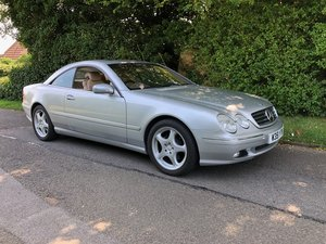 2000 Mercedes CL 500 45,000 miles only For Sale
