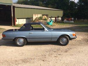 1973 Mercedes 450 SL convertible Eye catcher SOLD