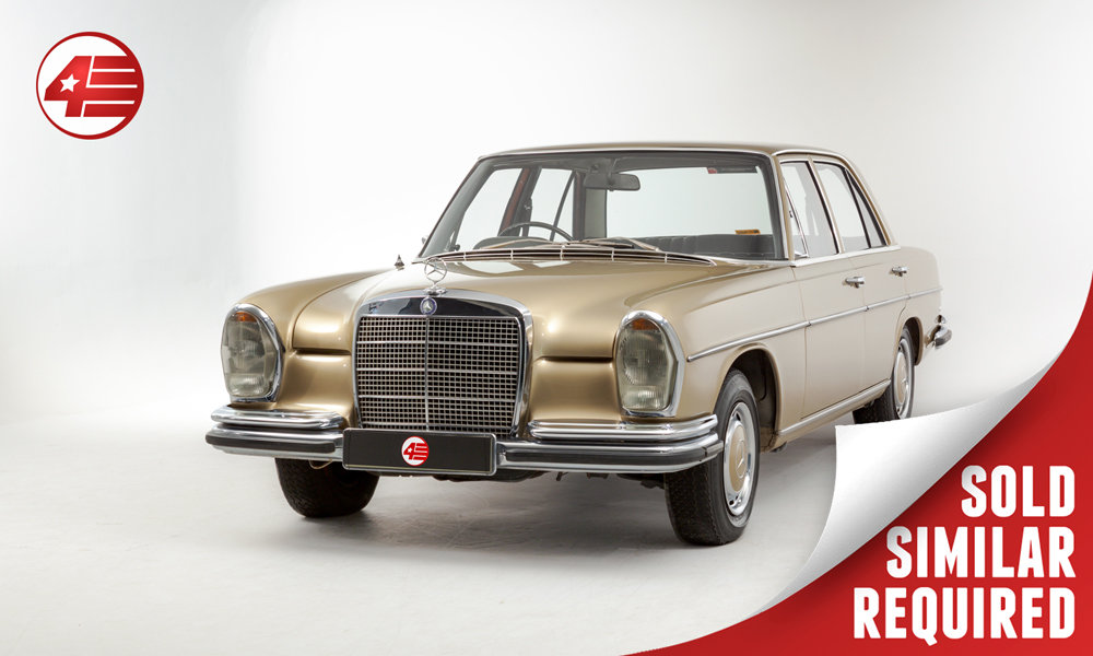 1972 Mercedes W108 280 SE /// 65k Miles SOLD (picture 1 of 2)
