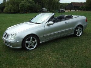 2005 Mercedes CLK240 Avantgarde 2.6 V6 Cabriolet For Sale