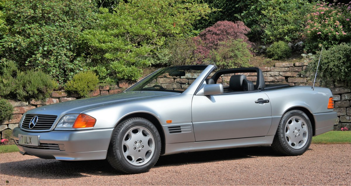 1991 MERCEDES 300 SL-24 - CONCOURSE EXAMPLE  For Sale (picture 1 of 6)
