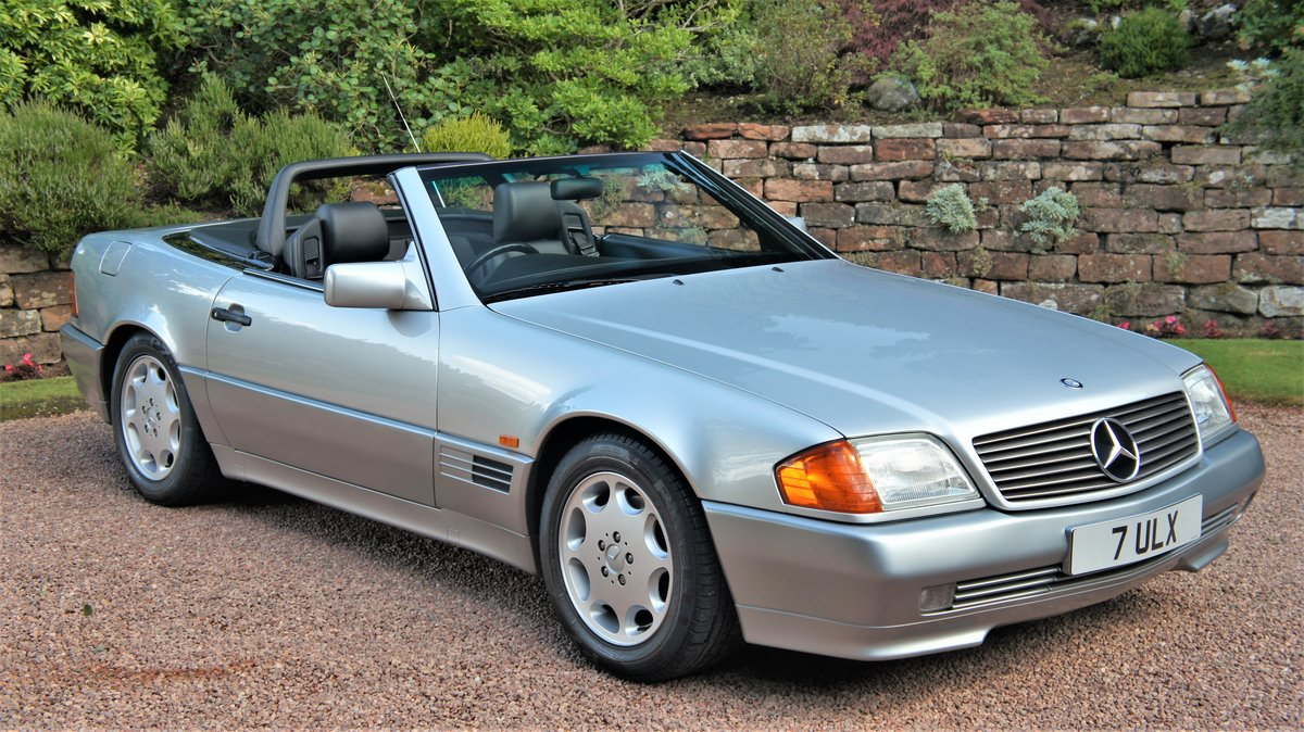 1991 MERCEDES 300 SL-24 - CONCOURSE EXAMPLE  For Sale (picture 2 of 6)