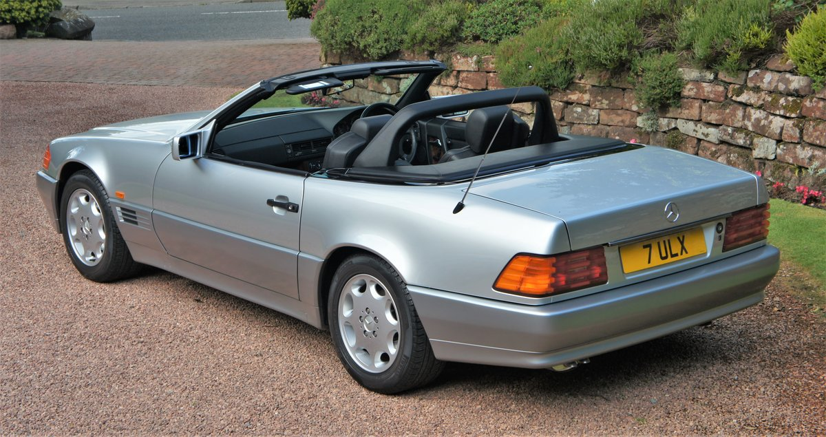 1991 MERCEDES 300 SL-24 - CONCOURSE EXAMPLE  For Sale (picture 3 of 6)