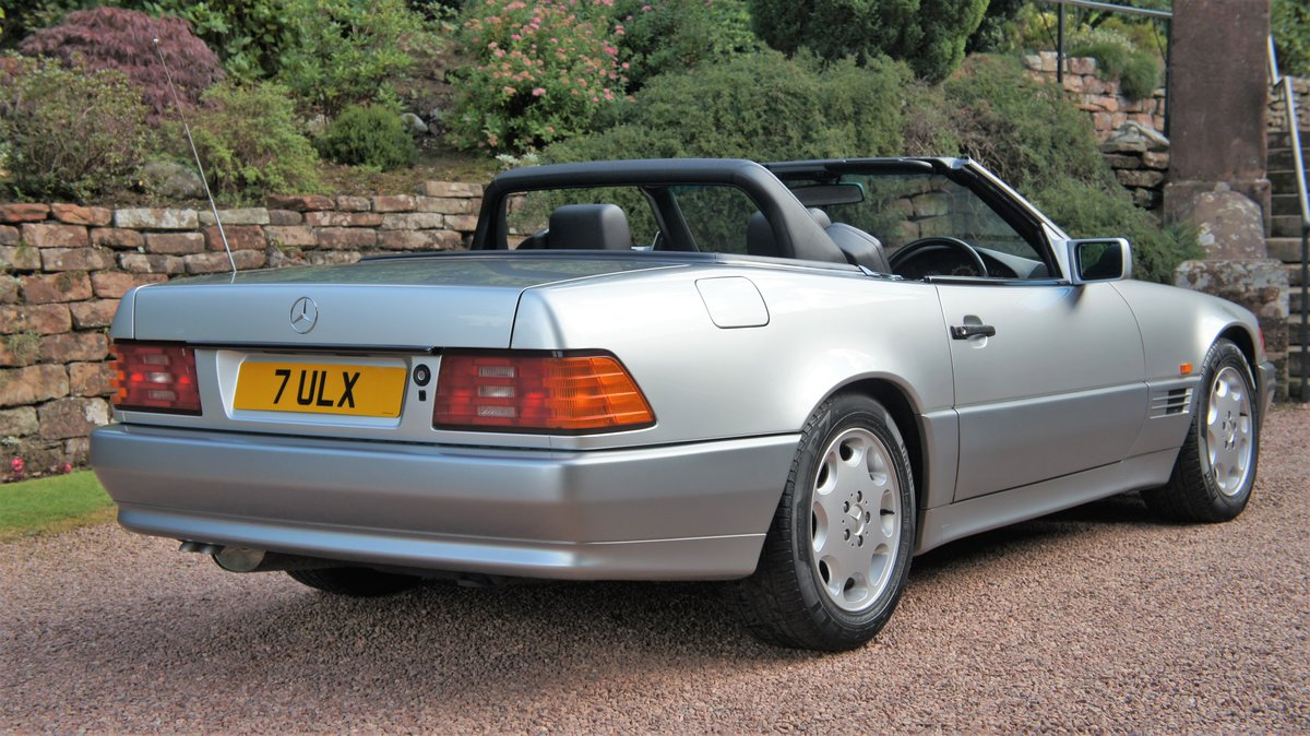 1991 MERCEDES 300 SL-24 - CONCOURSE EXAMPLE  For Sale (picture 4 of 6)