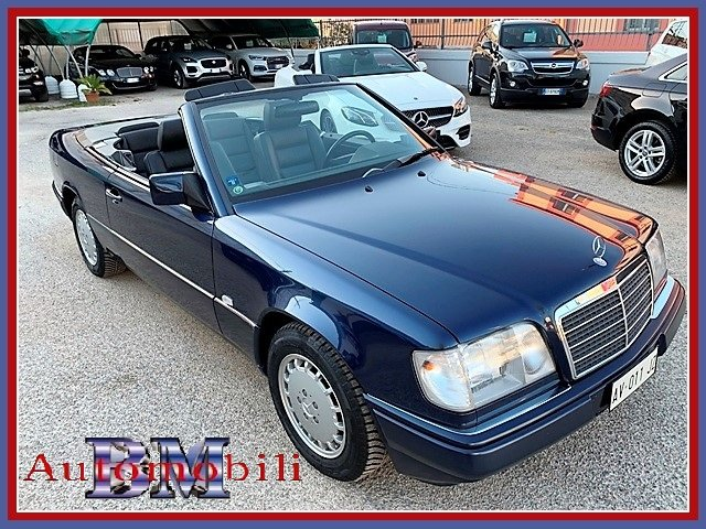 1997 MERCEDES E200 CABRIO 136CV - 1 OWNER - FIRST PAINT For Sale (picture 1 of 6)