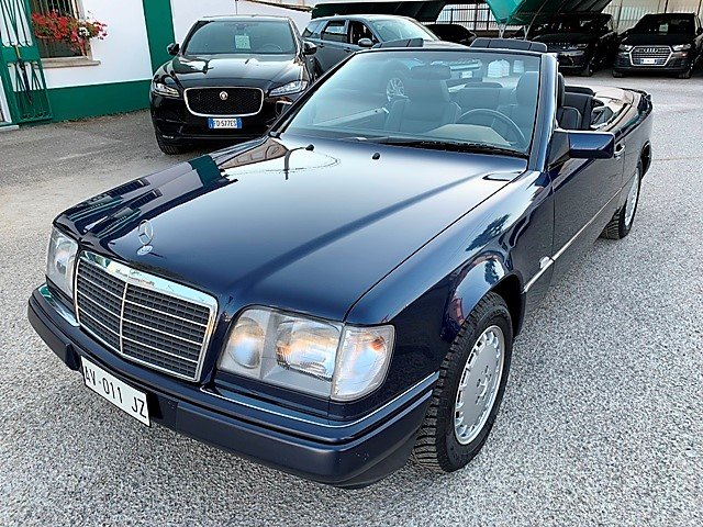 1997 MERCEDES E200 CABRIO 136CV - 1 OWNER - FIRST PAINT For Sale (picture 2 of 6)
