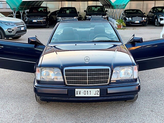 1997 MERCEDES E200 CABRIO 136CV - 1 OWNER - FIRST PAINT For Sale (picture 6 of 6)