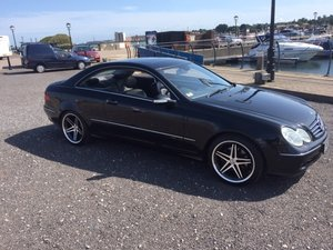 2003 Mercedes CLK Avengarde diesel For Sale