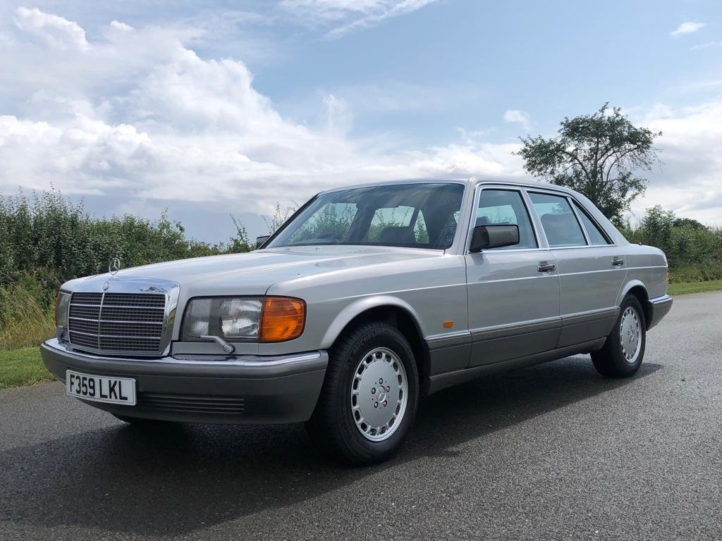 1989 Mercedes Benz 560 SEL Automatic SOLD (picture 1 of 6)