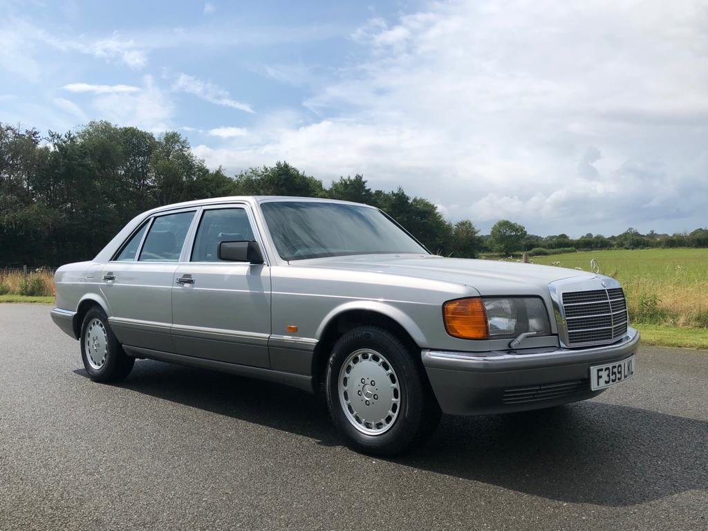 1989 Mercedes Benz 560 SEL Automatic SOLD (picture 3 of 6)
