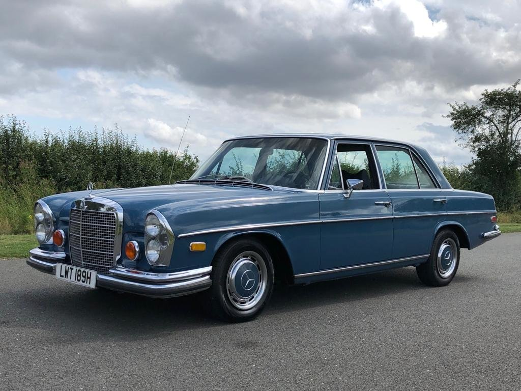 1970 Mercedes Benz W108 280S Automatic Saloon SOLD (picture 1 of 6)
