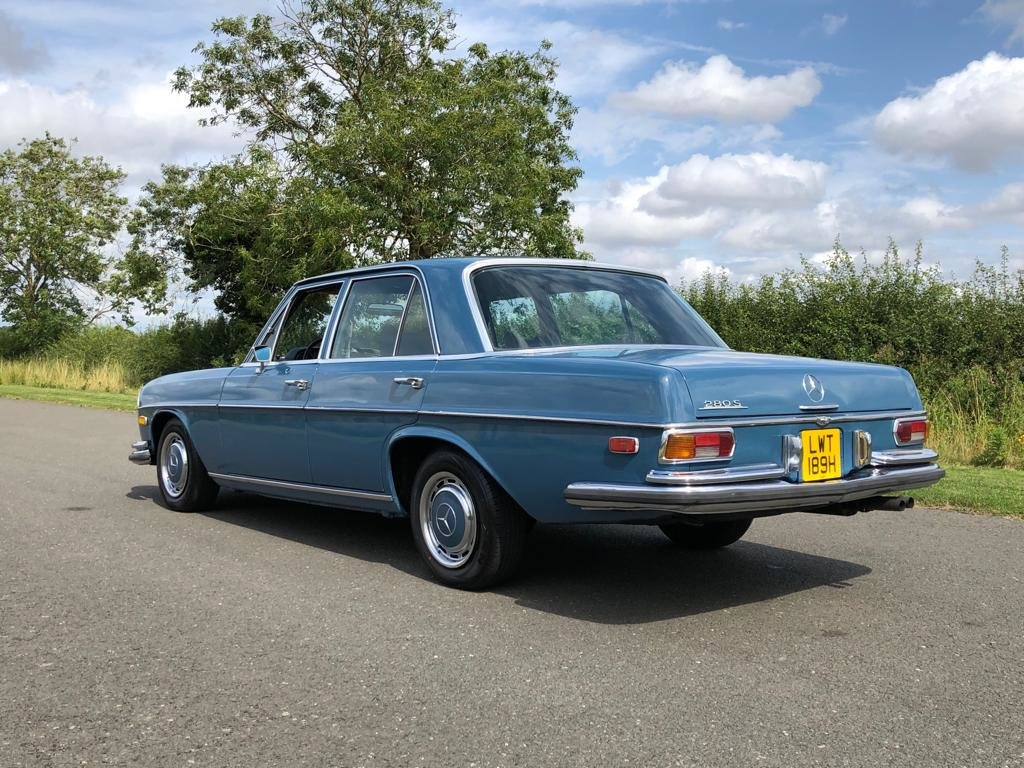 1970 Mercedes Benz W108 280S Automatic Saloon SOLD (picture 4 of 6)