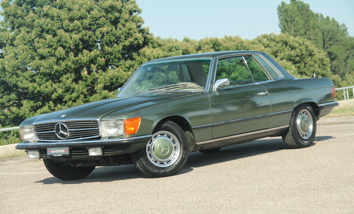 1972 1 Owner low KM MERCEDES-BENZ 350 SLC Manual (V8 Coupé) For Sale (picture 1 of 6)