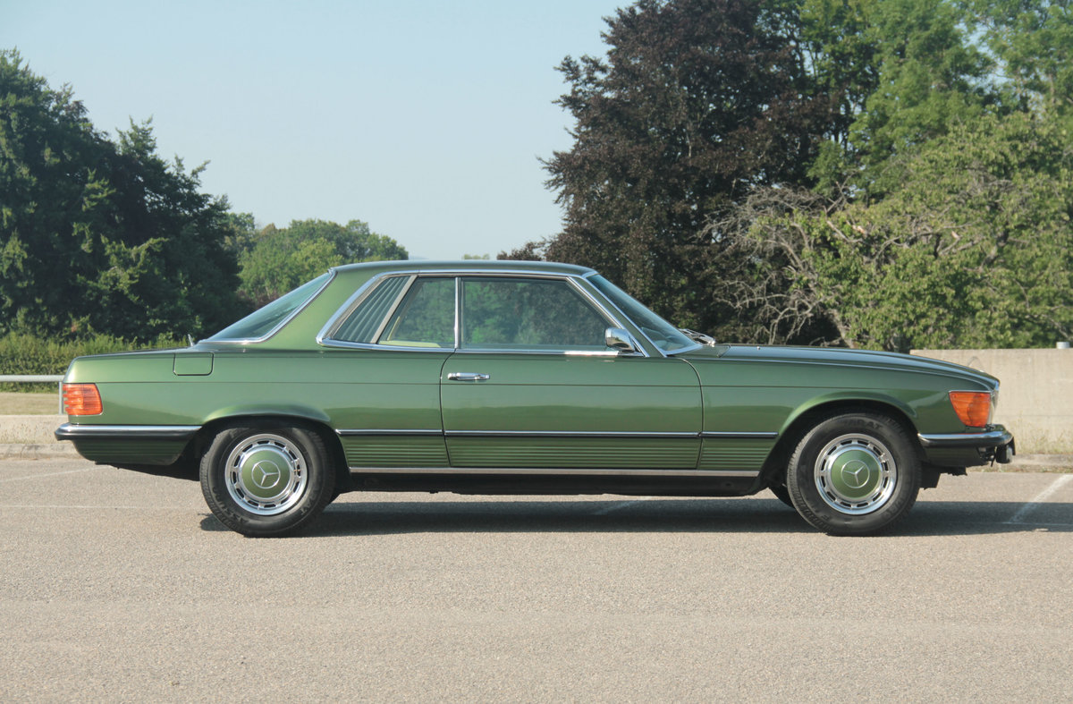 1972 1 Owner low KM MERCEDES-BENZ 350 SLC Manual (V8 Coupé) For Sale (picture 6 of 6)