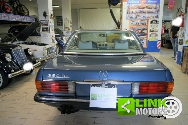 1972 Mercedes Classe SL 350 PAGODA  HARD TOP RESTAURO TOTALE For Sale (picture 5 of 6)