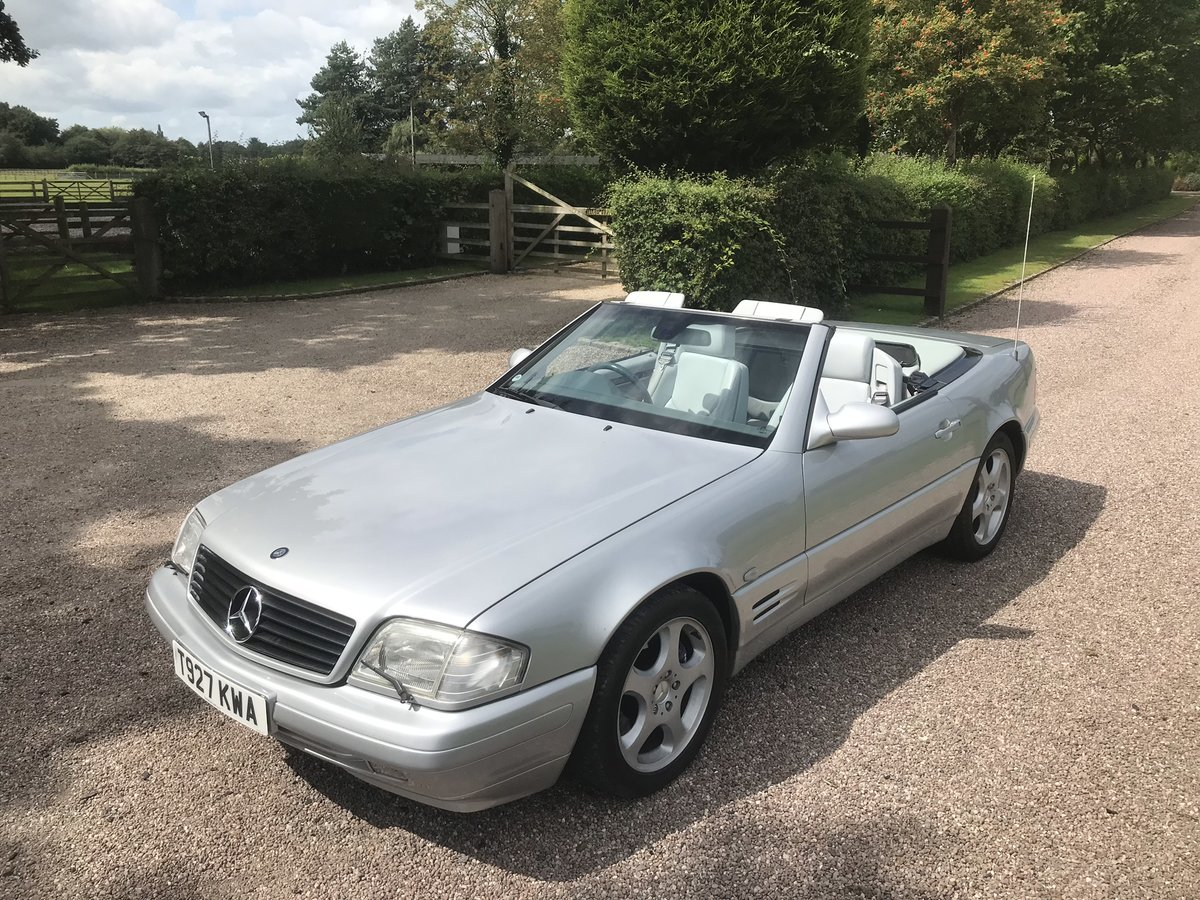 1999 Stunning High Spec SL320 V6 For Sale (picture 1 of 6)