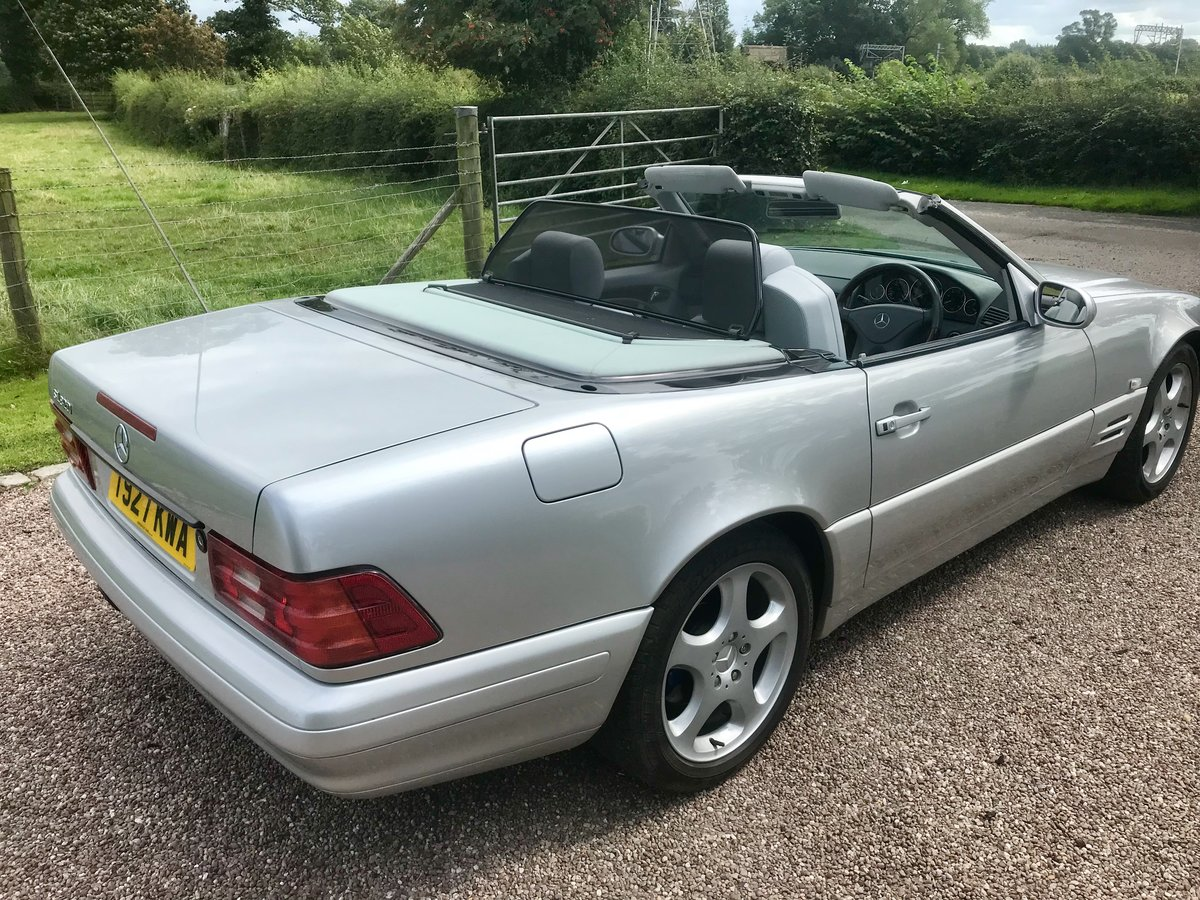 1999 Stunning High Spec SL320 V6 For Sale (picture 3 of 6)