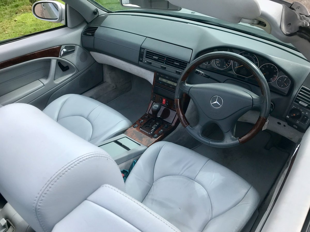 1999 Stunning High Spec SL320 V6 For Sale (picture 2 of 6)