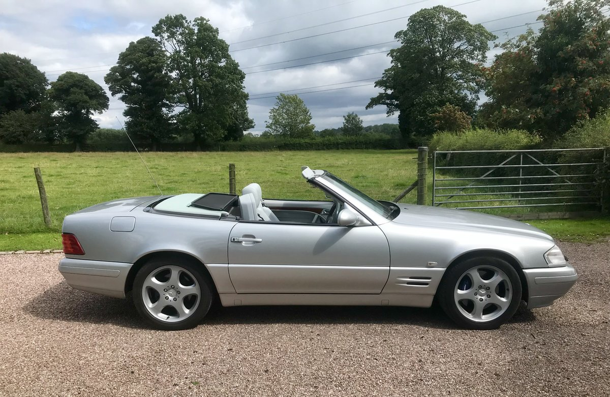 1999 Stunning High Spec SL320 V6 For Sale (picture 5 of 6)