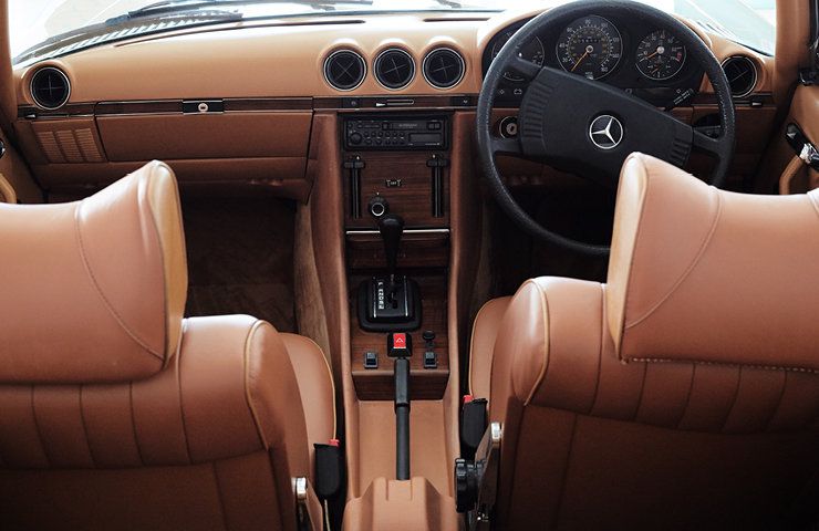 1979 MERCEDES 350SL 58113 Miles Stunning Car SOLD (picture 8 of 10)