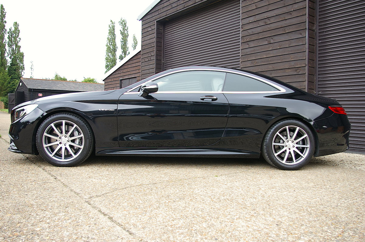 2015 Mercedes-Benz S63 AMG 5.5 V8 Coupe Auto (47,854 miles)  SOLD (picture 2 of 6)