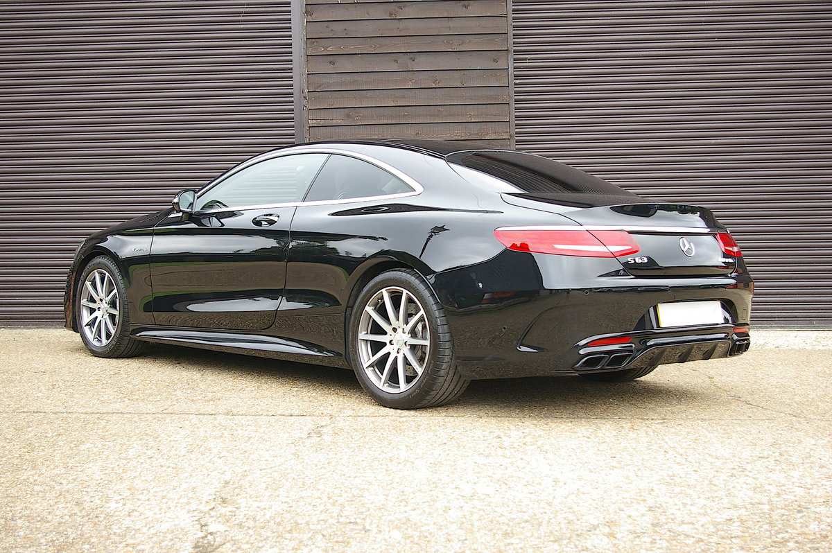 2015 Mercedes-Benz S63 AMG 5.5 V8 Coupe Auto (47,854 miles)  SOLD (picture 3 of 6)
