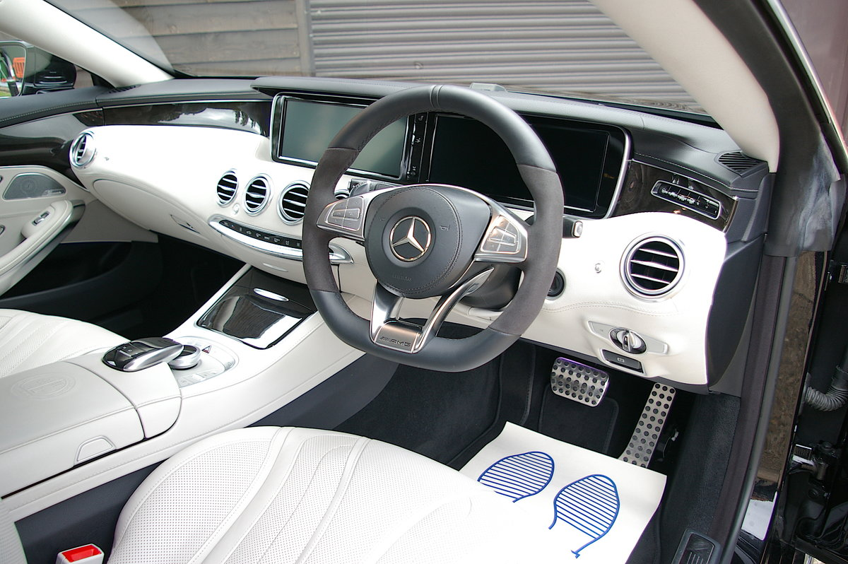 2015 Mercedes-Benz S63 AMG 5.5 V8 Coupe Auto (47,854 miles)  SOLD (picture 4 of 6)