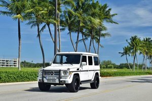 2017 2002 Mercedes G-Class G 500 Clean White(~)Burgundy $29.5k  For Sale