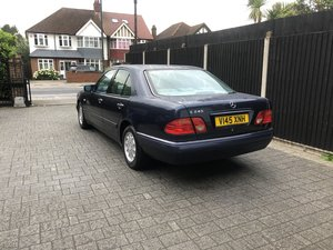 1999 Mercedes E240 Elegance Saloon, Automatic, 1 Owner For Sale