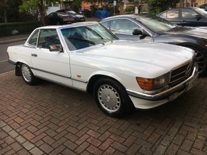 1988 Mercedes 420SL Complete history from new