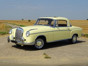 1959 MERCEDES-BENZ 220SE Ponton For Sale by Auction